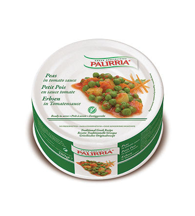 Peas in Oil - Arakas (palirria) 280g - Parthenon Foods