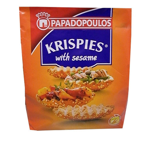 Krispies Sesame Toast, 200g - Parthenon Foods