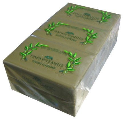 Olive Oil Soap, Papoutsanis, CASE (6 x 125g) - Parthenon Foods