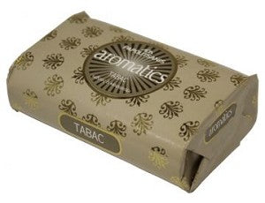 Aromatics Luxary Soap, Tabac, 125g - Parthenon Foods
