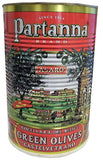 Partanna Green Olives, Castelvetrano, 2.5kg (5.5 lb) Tin - Parthenon Foods