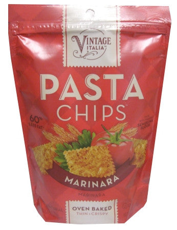 Pasta Chips, Marinara, 5 oz - Parthenon Foods