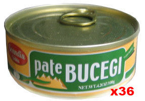 Vegetable Pate, BUCEGI, Soy CASE (36 x 100g) - Parthenon Foods