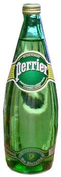 Perrier Sparkling Mineral Water, 750ml Glass - Parthenon Foods