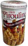 Creme de Pirouline, Chocolate Hazelnut Wafers, CASE (6 x14 oz) - Parthenon Foods