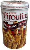 Creme de Pirouline, Chocolate Hazelnut Wafers, 14 oz (400g) - Parthenon Foods