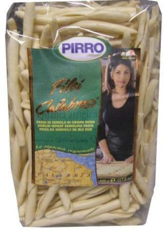 Filei Calabresi Pasta (Pirro)  500g (17.6 oz) - Parthenon Foods