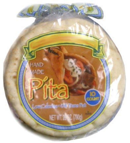 Pita Bread ,10 count (Corfu) - Parthenon Foods