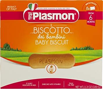 Plasmon Biscuits, Biscotti, 11.3 oz (320g) - Parthenon Foods