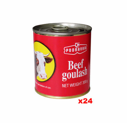 Beef Goulash (podravka) CASE, 24x10.5oz - Parthenon Foods