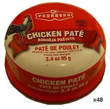 Chicken Pate (Podravka) CASE (48 x 95g) - Parthenon Foods