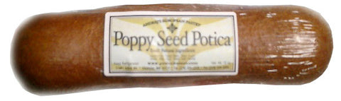 Potica Roll, Poppy Seed, 15oz - Parthenon Foods