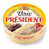 Brie Round Soft-Ripened Cheese, 8oz(227g) - Parthenon Foods