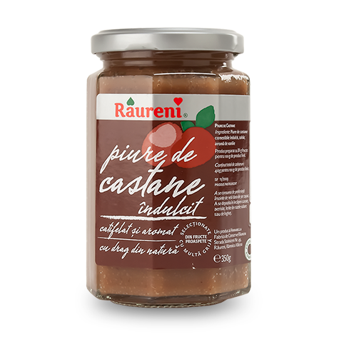 Chestnut Puree (Raureni) 350g - Parthenon Foods