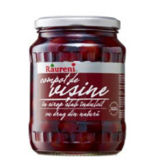 Pitted Sour Cherries in Syrup (Raureni) 720 g (25 oz) - Parthenon Foods