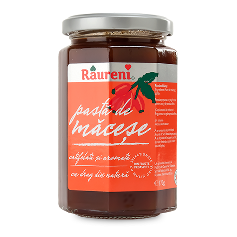 Rose Hip Jam (Raureni) 370g (13 oz) - Parthenon Foods