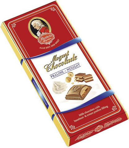 Reber Mozart Chocolate, Praline - Nougat, 100g - Parthenon Foods