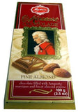 Reber Mozart Chocolate, Fine Almond, 100g - Parthenon Foods