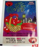 Egg Dye, Red, CASE (12 pack) - Parthenon Foods