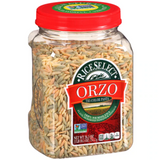 Orzo Tri-Color Pasta, 26.5 oz - Parthenon Foods