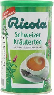 Ricola Instant Herbal Tea, 200g can - Parthenon Foods