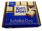 Ritter Sport Schoko-Duo Chocolate, 100g - Parthenon Foods