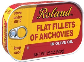 Anchovy Fillets in Olive Oil 28oz (793g) - Parthenon Foods