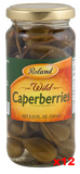 Wild Caperberries (Roland) CASE (12 x 8.25 oz) - Parthenon Foods