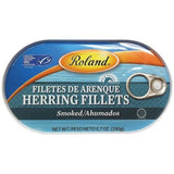 Roland Smoked Herring Fillets, 6.7-Ounce Box (Pack of 6) - Parthenon Foods