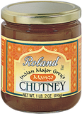Roland Major Grey's Mango Chutney from India 510 g (1 lb 2 oz) - Parthenon Foods