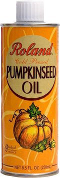 Pumpkinseed Oil (Roland) 8.5 oz (250ml) - Parthenon Foods