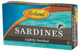 Sardines Lightly Smoked (Roland) 125g - Parthenon Foods