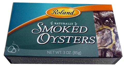 Smoked Oysters (Roland) 3.0 oz (85g) - Parthenon Foods