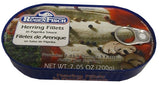Herring Fillets in Paprika Sauce (RugenFisch) 200g - Parthenon Foods