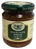 Black Olive Spread (SanGiuliano) 180g (6.35 oz) - Parthenon Foods