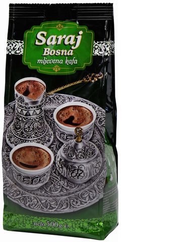 Saraj Bosna Coffee, 500g - Parthenon Foods