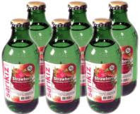 Sarikiz Mineral Water with Strawberry CASE (6 x 250ml) - Parthenon Foods