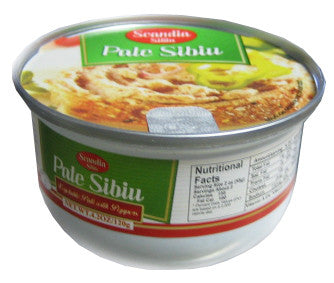 Vegetable Pate, Sibiu, Soy, with Peppers, 120g - Parthenon Foods