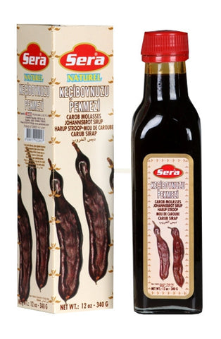 Carob Syrup, Molasses (Sera) 12 oz (340g) - Parthenon Foods