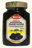 Black Olives, Gemlik Sele (Sera) 14 oz Jar - Parthenon Foods