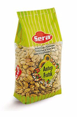 Turkish Pistachios Roasted and Salted (Sera) 12.34 oz (350g) - Parthenon Foods