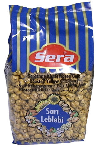 Roasted Yellow Chickpeas (Sera) 12.34 oz (350g) - Parthenon Foods