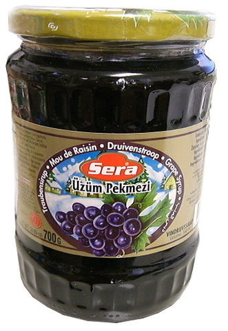 Grape Syrup, Uzum Pekmezi (Sera) 700g (24.69 oz) - Parthenon Foods