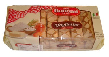 Sfogliatine Glassate (Puff Pastry Glazed) 200g (7oz) - Parthenon Foods