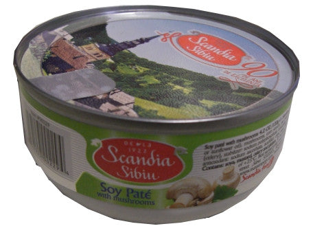 Vegetable Pate, Sibiu, Soy, with Mushrooms, 120g - Parthenon Foods