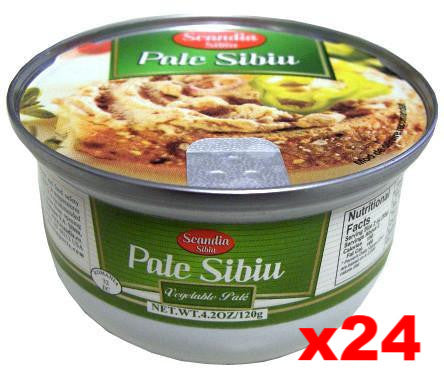 Vegetable Pate, Sibiu, Soy, CASE (24 x 120g) - Parthenon Foods