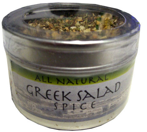 Greek Salad Spice, 1.5 oz (43g) can - Parthenon Foods