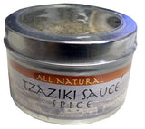 Tzaziki Sauce Spice, 2.5 oz (73.9g) can - Parthenon Foods