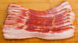 Smoked Pork Bacon, Sliced, approx. 1.1 lb - Parthenon Foods