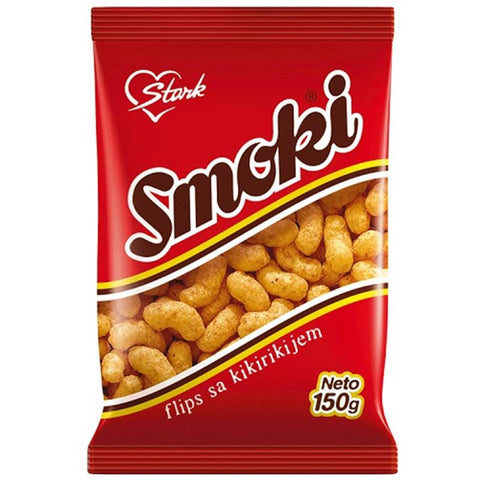 Smoki Peanut Flavored Snacks, 150g - Parthenon Foods